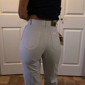Vintage LEE Girls Pleated Capri pants 23